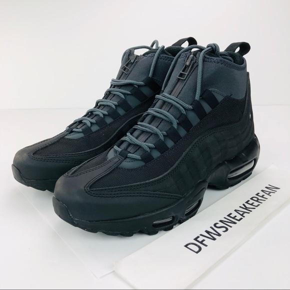 new arrival 58e68 51050 Nike Air Max 95 Sneakerboots Black Men s Sz 7